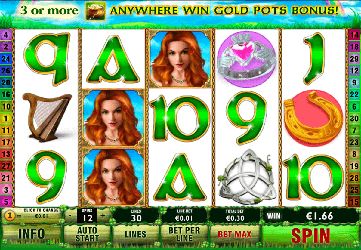 irish luck playtech slot machine