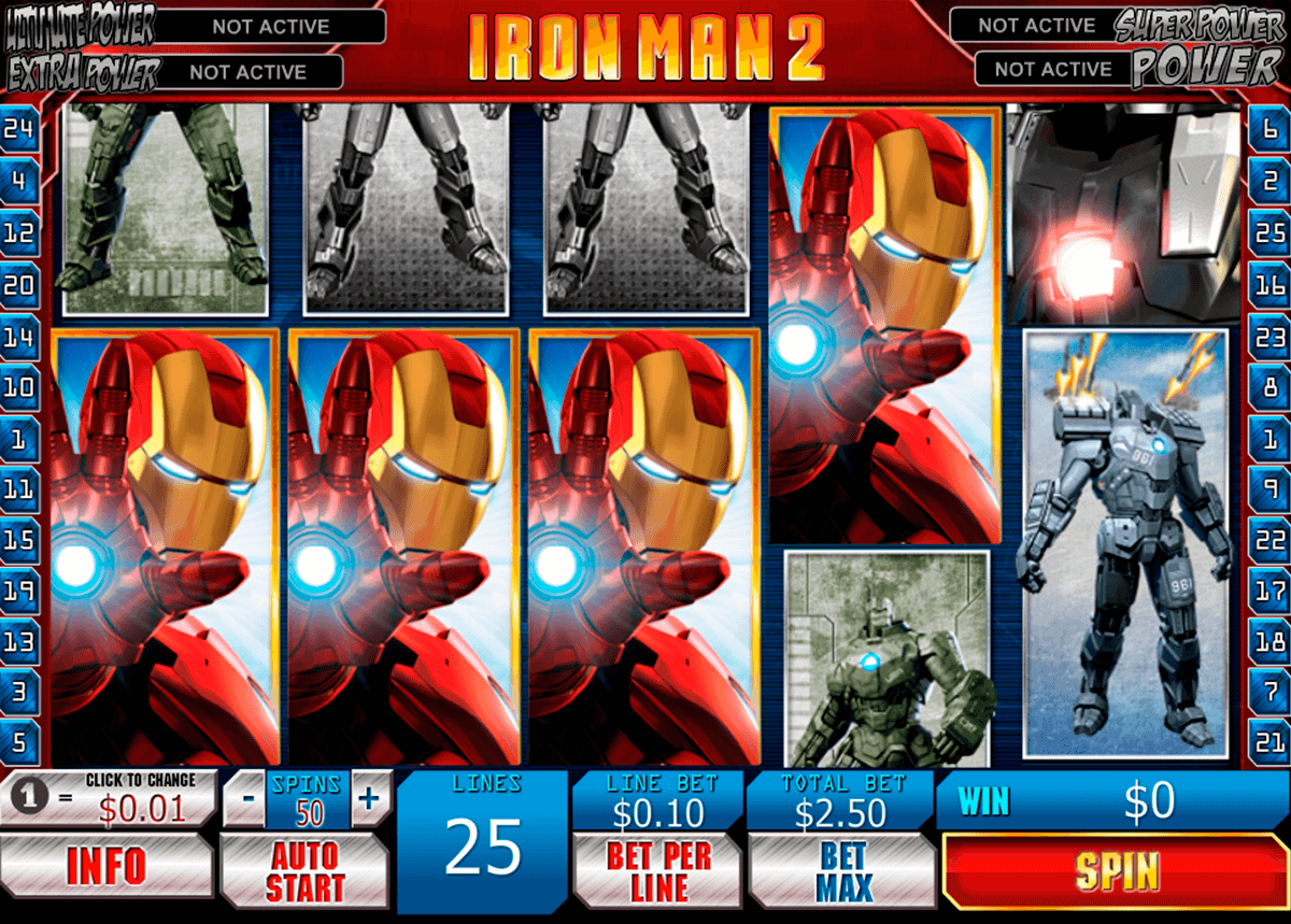 iron man 2 playtech slot machine