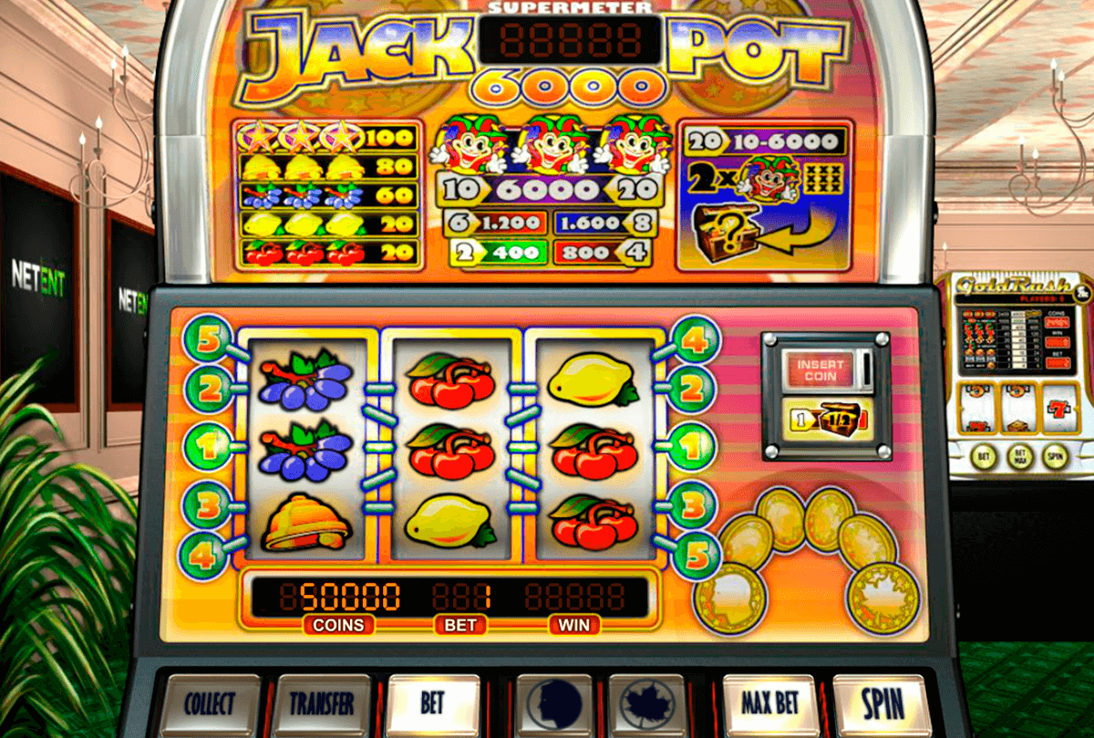 jackpot 6000 netent slot machine