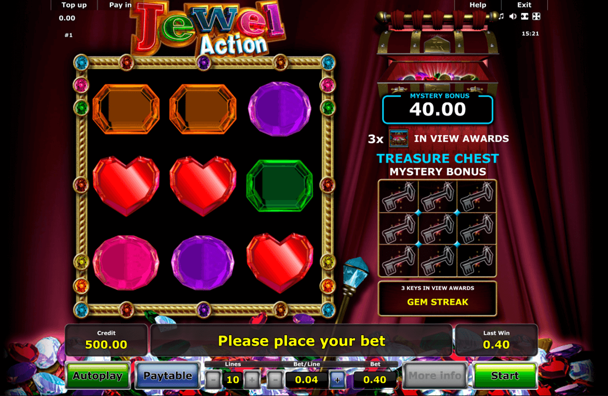 jewel action novomatic slot machine