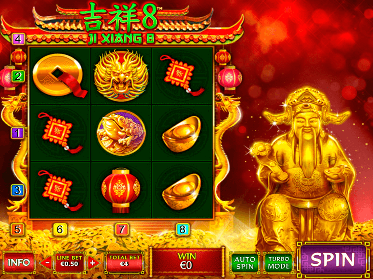 ji xiang 8 playtech slot machine