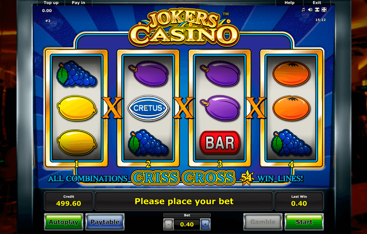 jokers casino novomatic slot machine