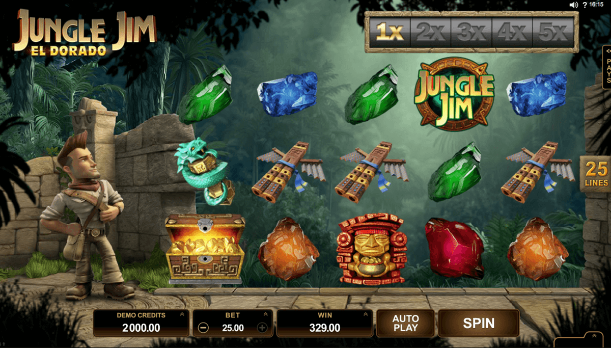 jungle jim el dorado microgaming slot machine