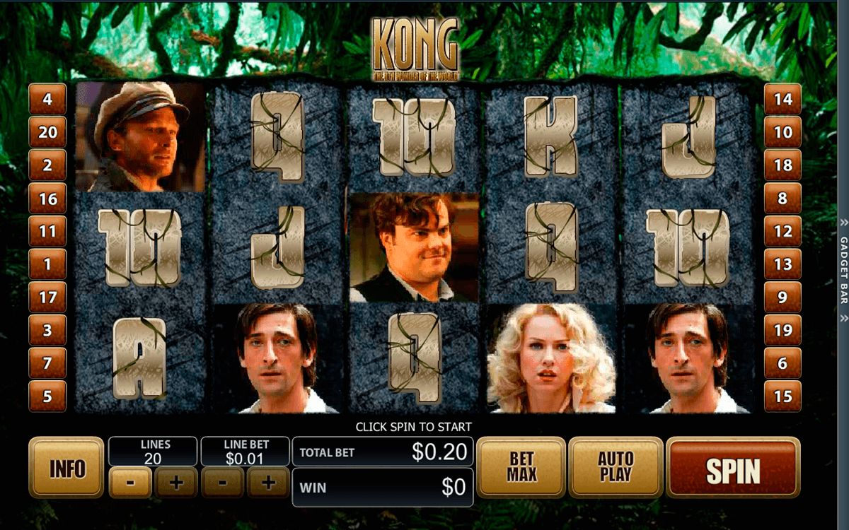 king kong playtech slot machine