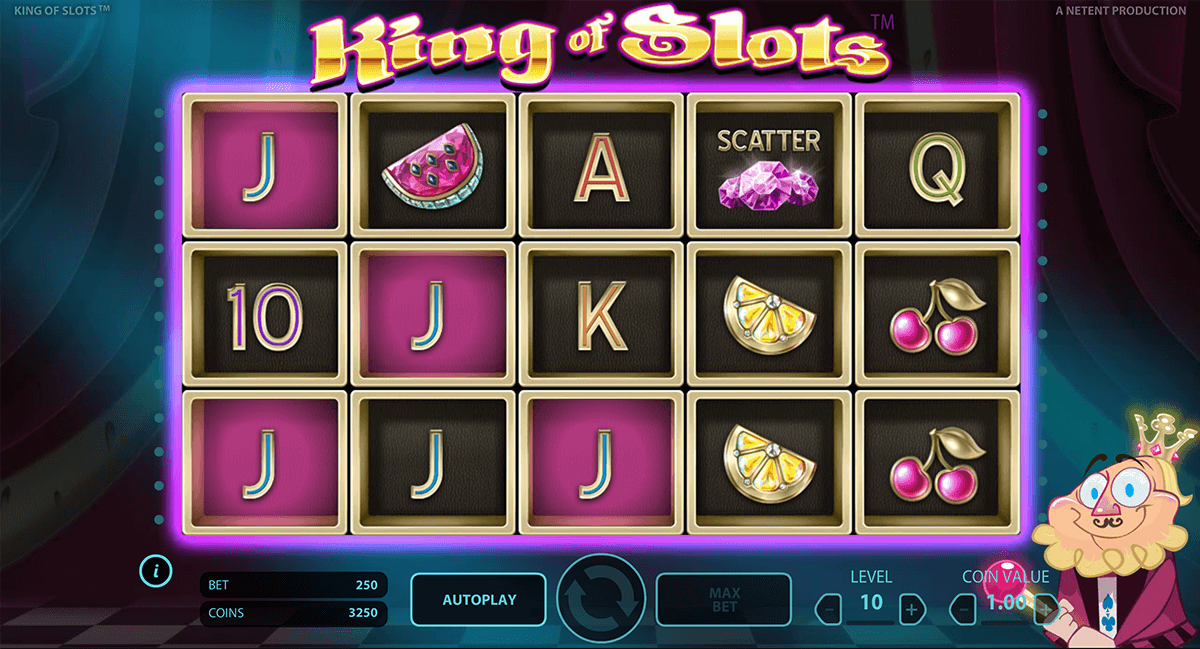 king of slots netent slot machine