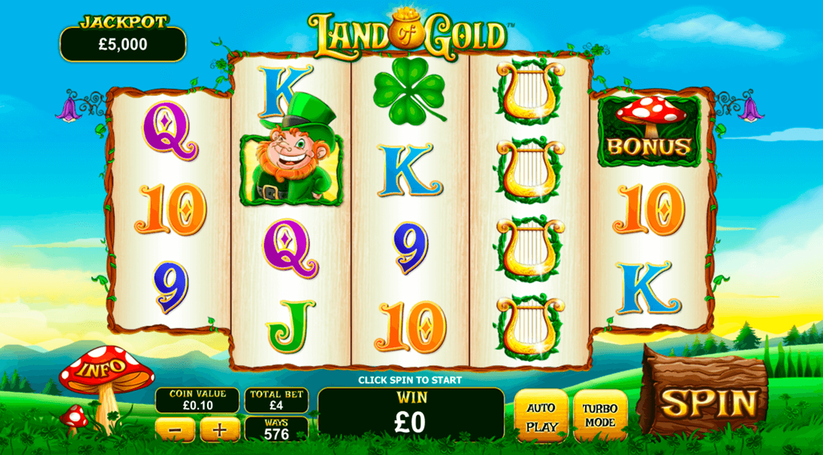land of gold playtech slot machine