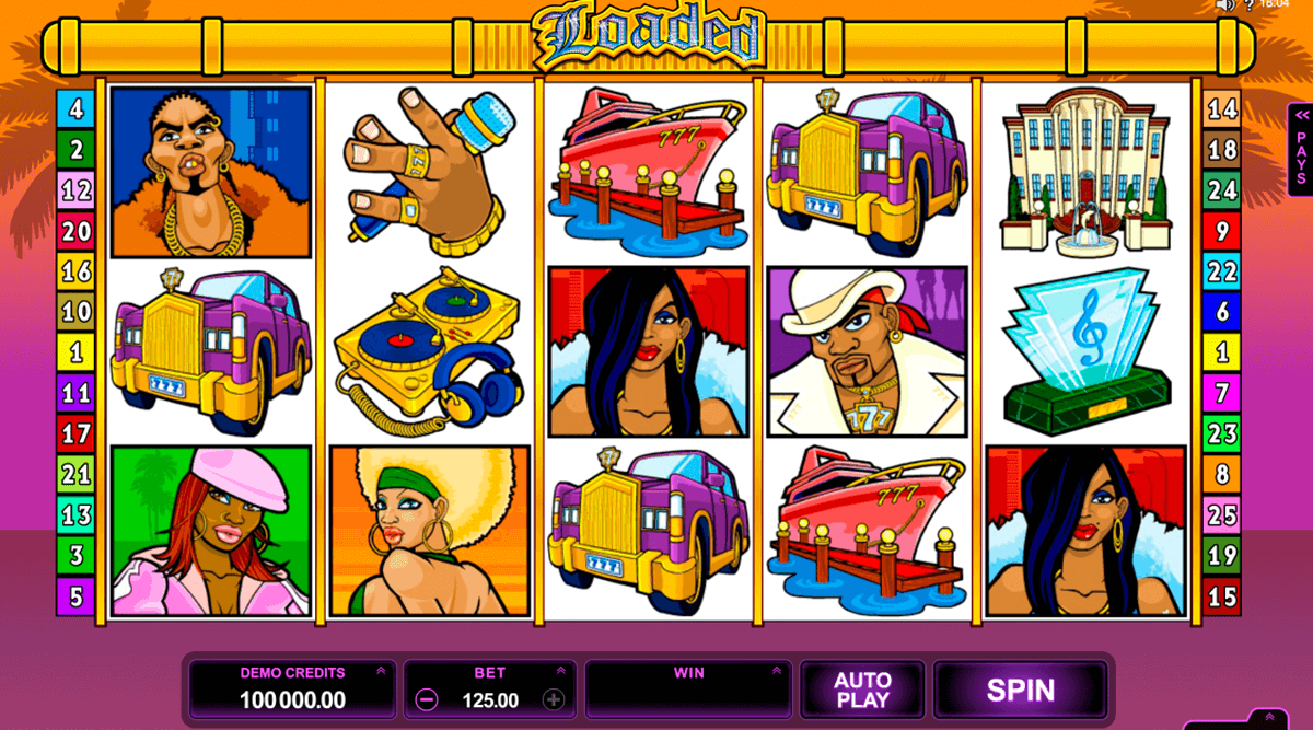 loaded microgaming slot machine