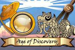 logo age of discovery microgaming slot online