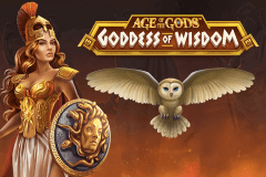 logo age of the gods goddess of wisdom playtech slot online