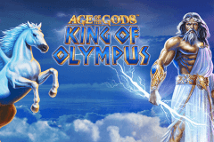 logo age of the gods king of olympus playtech slot online