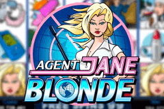 logo agent jane blonde microgaming slot online