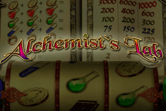 logo alchemists lab playtech slot online