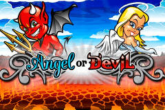 logo angel or devil playtech slot online