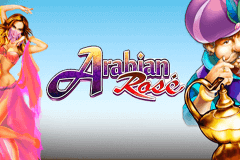 logo arabian rose microgaming slot online