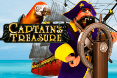 logo captains treasure playtech slot online