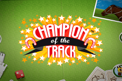 logo champion of the track netent slot online