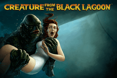 logo creature from the black lagoon netent slot online