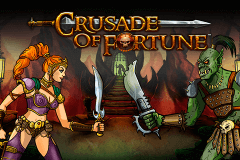 logo crusade of fortune netent slot online