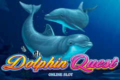 logo dolphin quest microgaming slot online