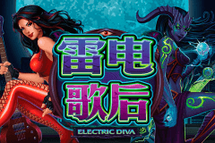 logo electric diva microgaming slot online