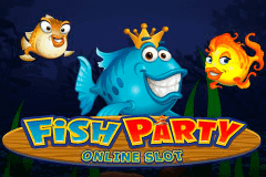 logo fish party microgaming slot online