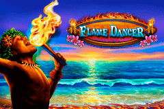 logo flame dancer novomatic slot online