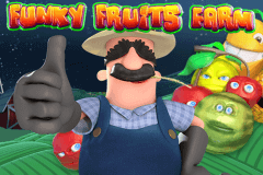 logo funky fruits farm playtech slot online