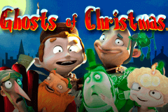 logo ghosts of christmas playtech slot online