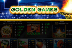 logo golden games playtech slot online
