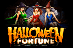 logo halloween fortune playtech slot online