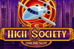 logo high society microgaming slot online