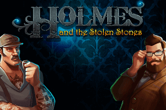 logo holmes and the stolen stones slot online