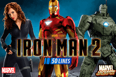 logo iron man 2 50 lines playtech slot online