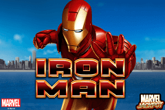 logo iron man playtech slot online