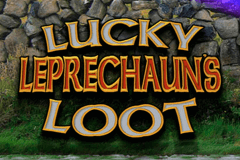logo lucky leprechauns loot microgaming slot online