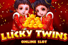 logo lucky twins microgaming slot online