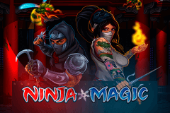 logo ninja magic microgaming slot online