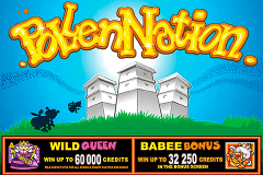 logo pollen nation microgaming slot online