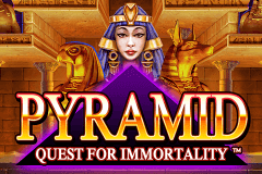 logo pyramid quest for immortality netent slot online