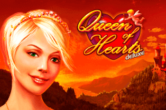 logo queen of hearts deluxe novomatic slot online