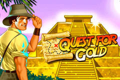 logo quest for gold novomatic slot online