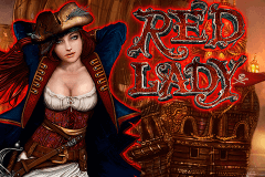 logo red lady novomatic slot online