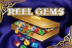 logo reel gems microgaming slot online