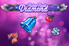 logo retro reels diamond glitz microgaming slot online