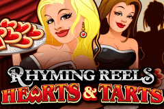 logo rhyming reels hearts and tarts microgaming slot online