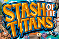 logo stash of the titans microgaming slot online