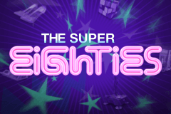 logo super eighties netent slot online