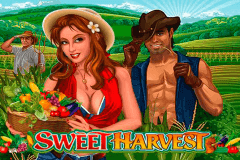 logo sweet harvest microgaming slot online