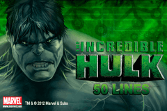 logo the incredible hulk 50 lines playtech slot online