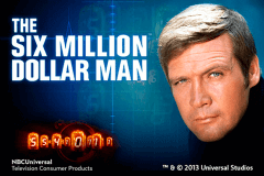 logo the six million dollar man playtech slot online